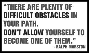 Obstacles Quote About Life