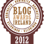 Blog Awards Ireland Nomination Logo