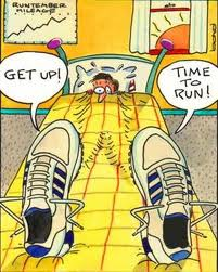Get Back to Business - Time to Get up and run picture