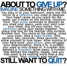 Are You About To Give Up - Find Your Inner Strength