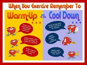 Warm Up & Cool Down Top Tips