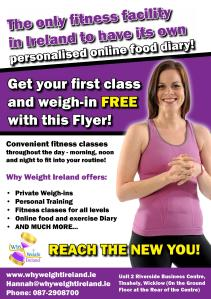 Why Weight Ireland Studio Distributed Leaflets