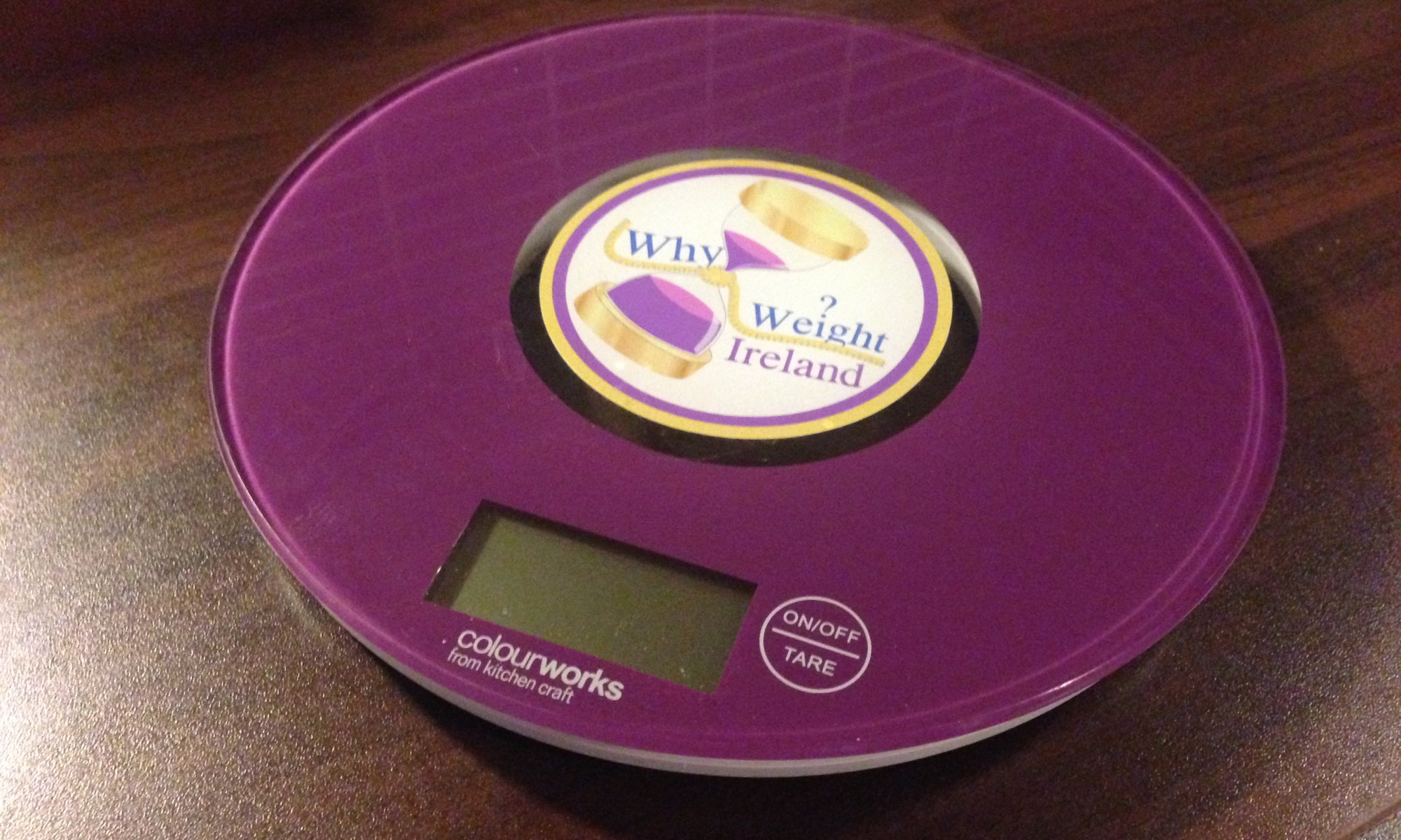 Purple Why Weight Ireland Food Scales