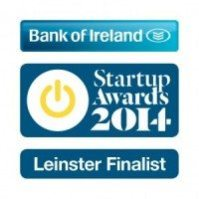 Leinster Finalist for Best Online Startup Business