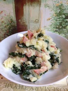 Savoy Colcannon with Smoked Bacon
