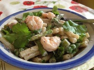 Macaroni Sweet Chilli Prawn Salad