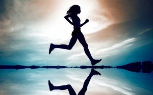 love running girl