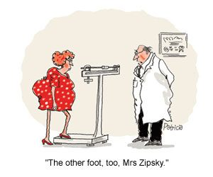 Organise Your Weight Loss - cartoon-the-other-foot-too