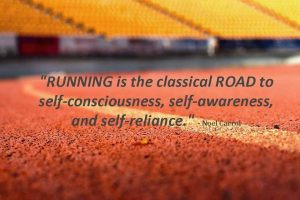 Weekend Sabotage - Running Noel Carrol Quote