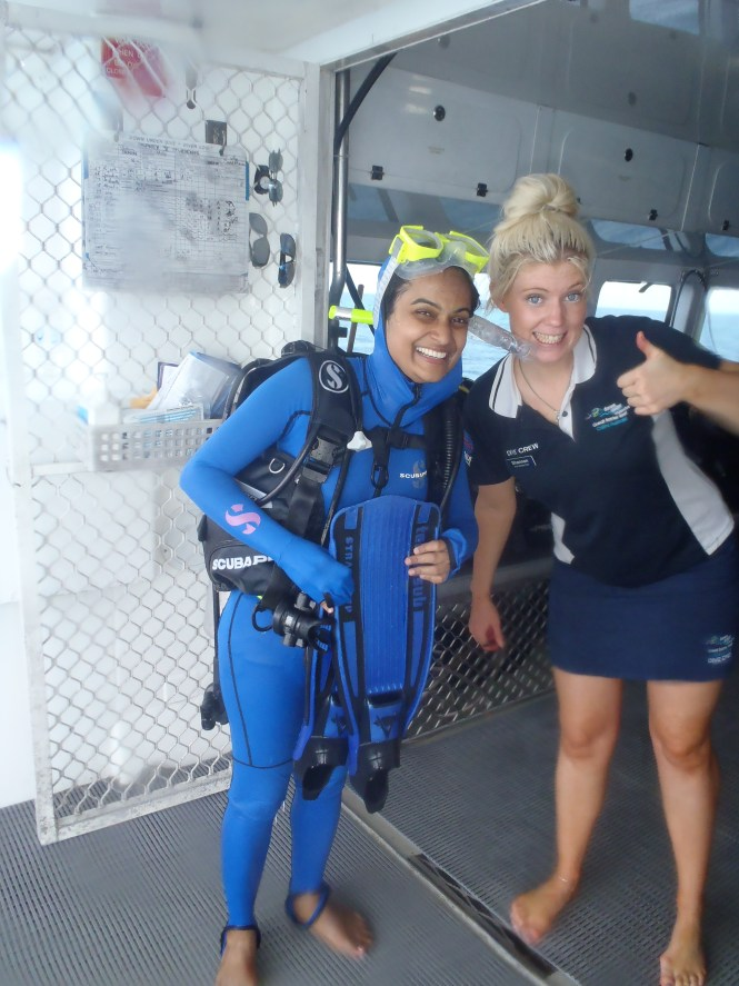 Successfully Scuba Dived !