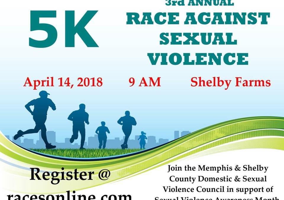 3rd Annual Race Against Sexual Violence