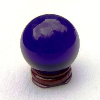 Navy Blue Crystal Ball