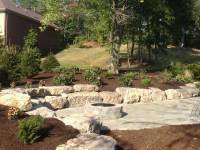 Stone Walls Pittsburgh - Natural Stone Retaining Wall