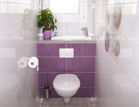 pose d un wc suspendu wici concept