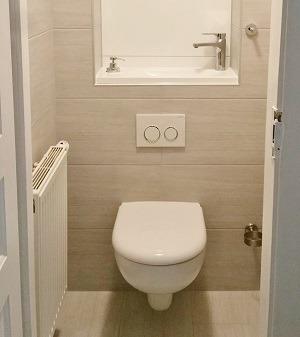 Pose dun WC suspendu  WiCi Concept
