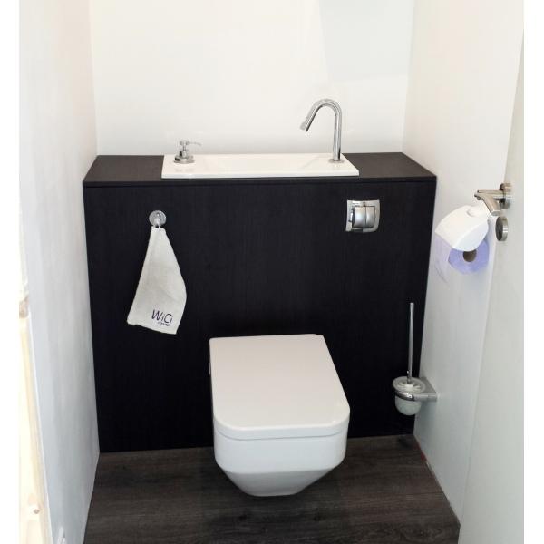 wand wc mit handwaschbecken wici bati