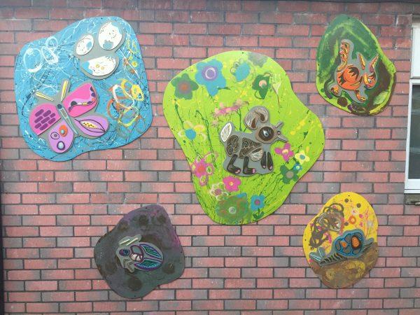 Marvellous Murals Ysgol Ty Coch - Wicid