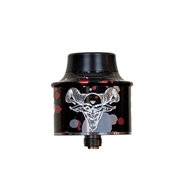 Black Red Silver Splatter Elite V3 RDA