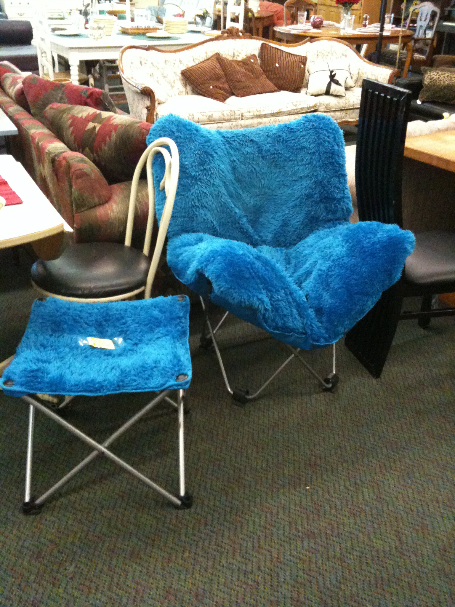 cookie monster chair heavy duty folding lawn chairs i think know what happened to the