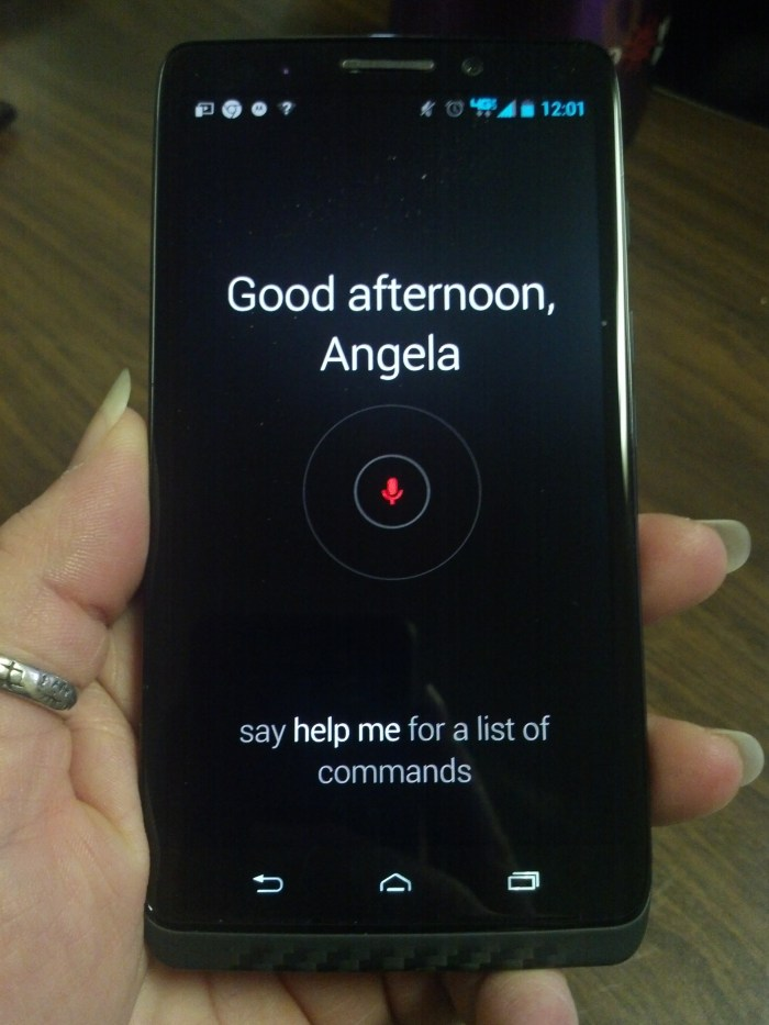Motorola Droid Maxx with Touchless Controls through Google Now