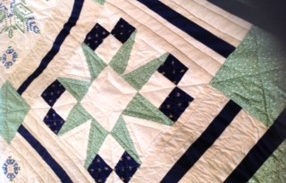 One of my mother's quilts
