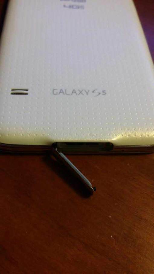 Waterproofing on Samsung S5 Smartphone