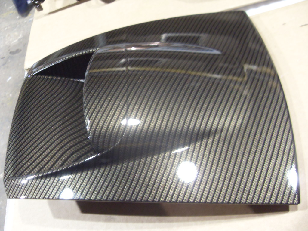 Wicked Coatings Carbon Dipped Aston Martin Interior And