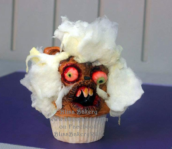 Winner of Ugly Cake Contest