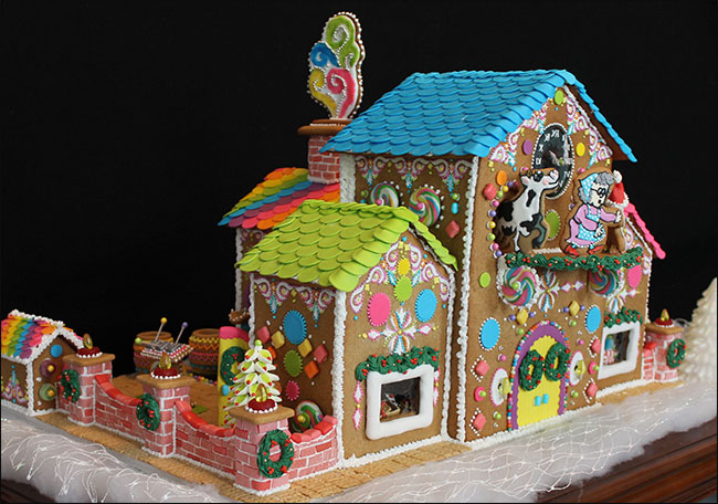 Graham Cracker Gingerbread House Ideas House And Home Design