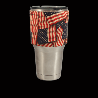 Americanflagpatterncup
