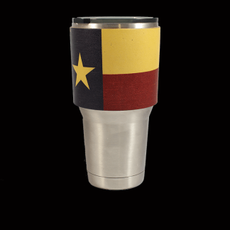 Texas Flag Tumbler Sleeve