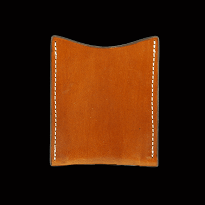 Chestnut Brown Plain Card Wallet