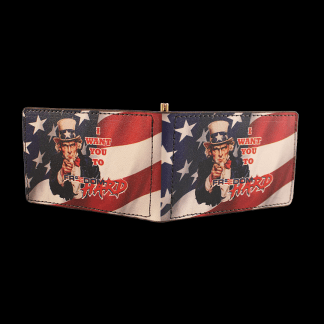 Freedom Hard Uncle Sam Wallet