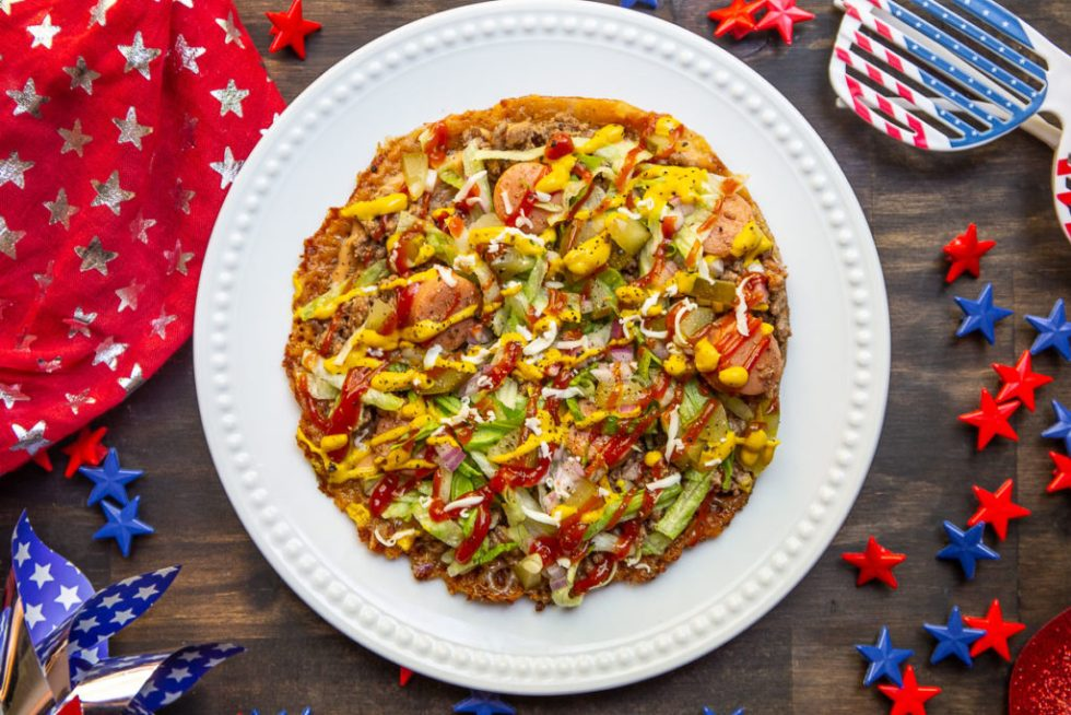 4th of July Pizza