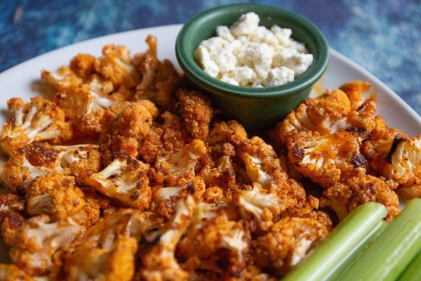 buffalo cauliflower Keto Side Dish Recipe