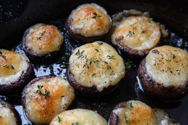 Keto Stuffed Mushrooms Keto Side Dish Recipe