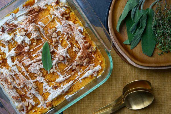 Keto Cauliflower Puree Keto Side Dish Recipe