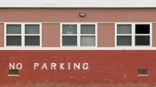 No Parking Band Room