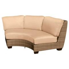 Replacement Cushions For Sleeper Sofa Sleepers Phoenix Az Whitecraft By Woodard Saddleback Wicker Circular Sectional Cushion Shop