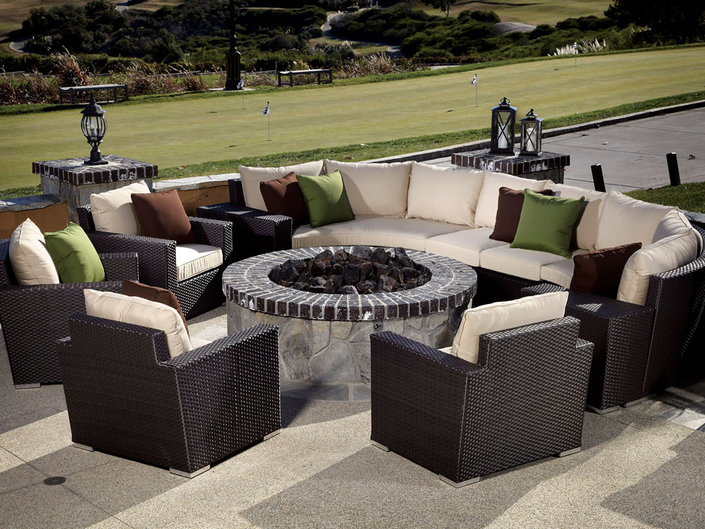 outdoor furniture covers curved sofa ikea klobo cover sunset west solana wicker 10 piece sectional set ...