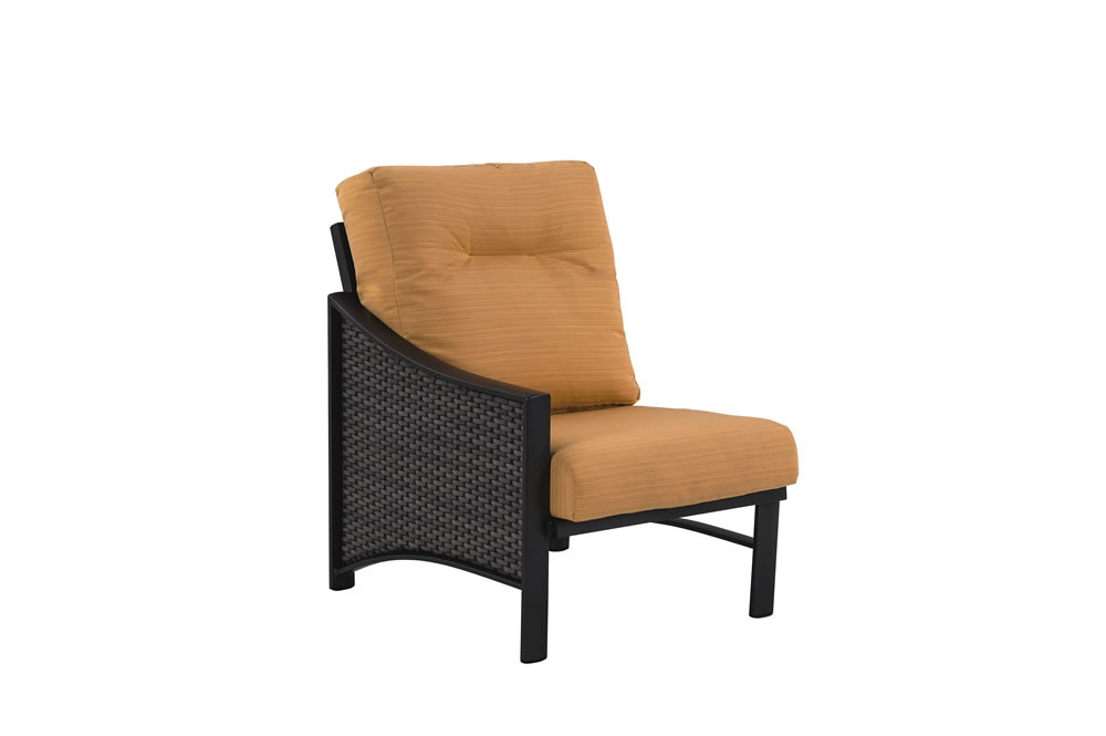 tropitone lounge chairs office chair name kenzo left arm facing wicker