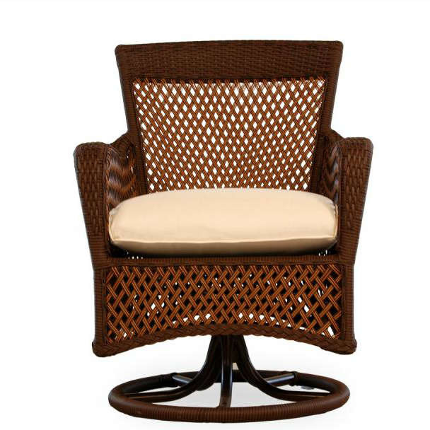 swivel camp chair target spider web lloyd flanders grand traverse wicker dining - wicker.com