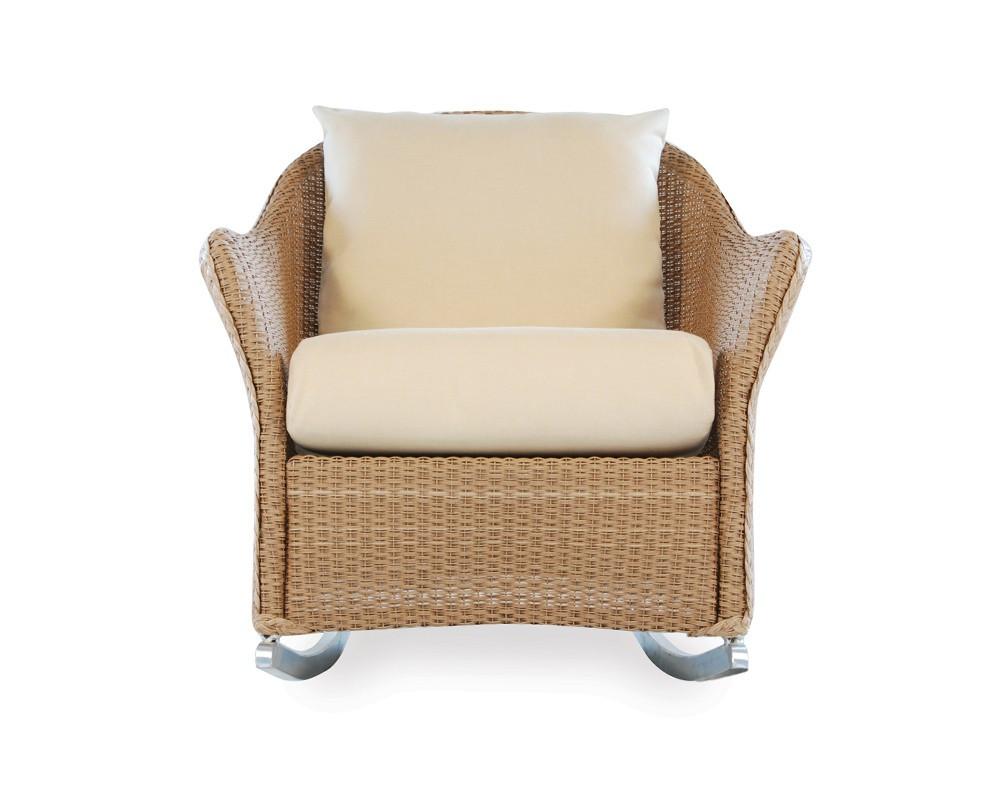 Lloyd Flanders Weekend Retreat Wicker Rocking Chair