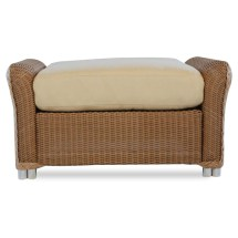 Lloyd Flanders Reflections Wicker Ottoman - Special