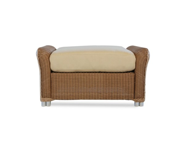 Lloyd Flanders Reflections Wicker Ottoman - Replacement