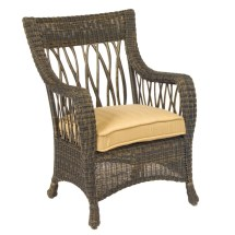 Whitecraft Woodard Serengeti Wicker Dining Chair