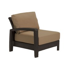 Tropitone Evo Left Arm Facing Wicker Lounge Chair