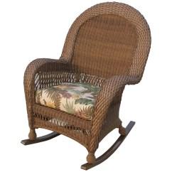 Wicker Rocking Chairs Dining Room Arm Longboat Key Casa Del Mar High Back Rocker Com