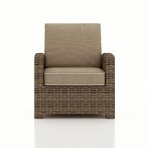 Patio Cypress Wicker Club Chair