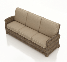 Outdoor Wicker Sofa Replacement Cushions